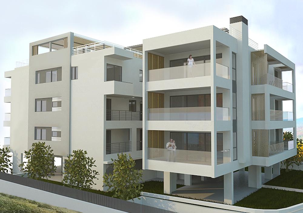 APARTMENT BUILDING IN GLYFADA