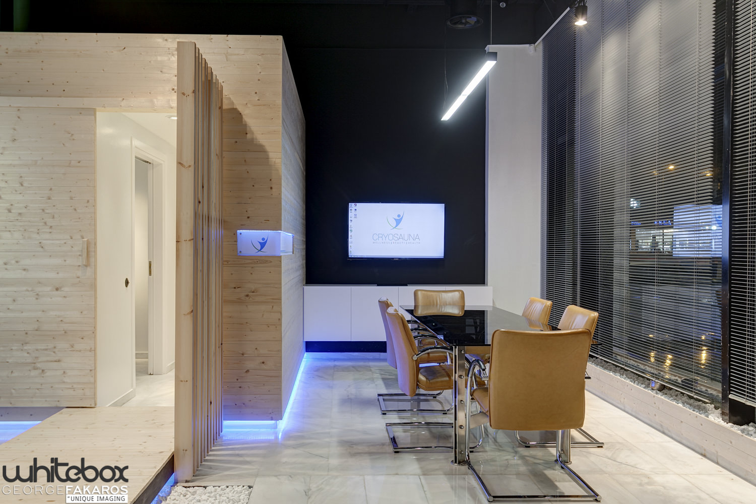CRYOSAUNA OFFICE AND SHOWROOM